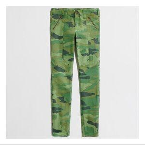 J.CREW Camo Skinny Pants